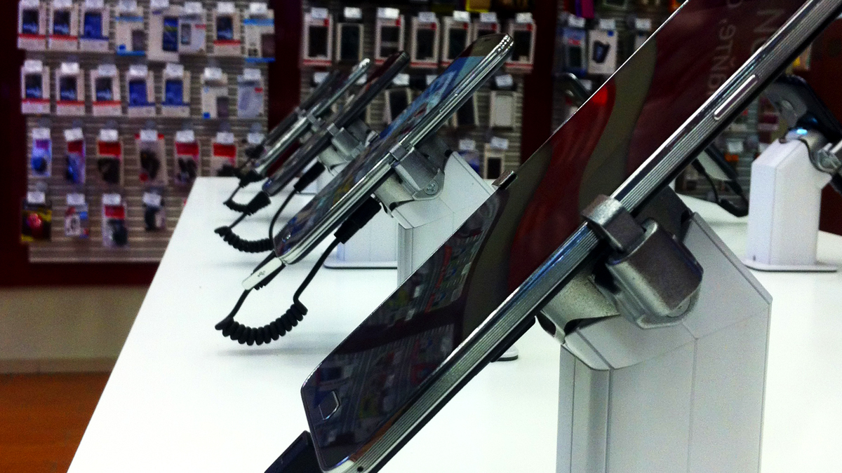 Сеть салонов сотовой связи МТС