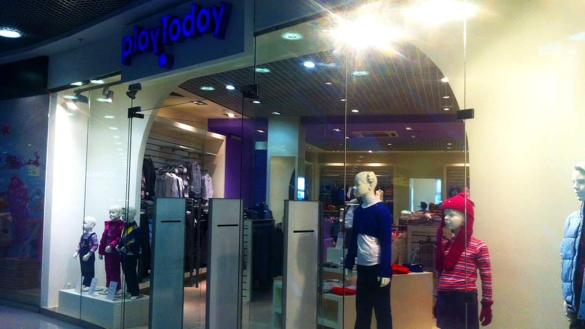 Магазин детской одежды PLAYTODAY