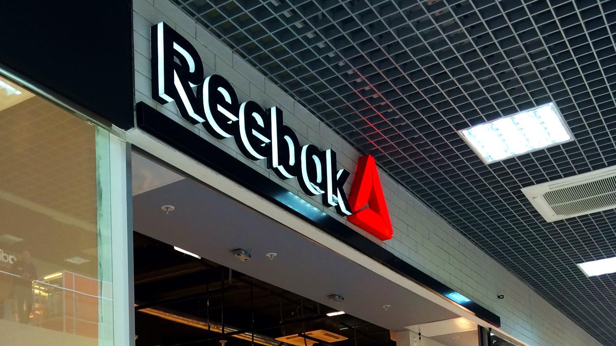 Цифровой дождь - готовые работы - Reebok
